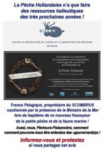 Bloom : Funérailles de la pêche artisanale à Concarneau le 25 septembre
